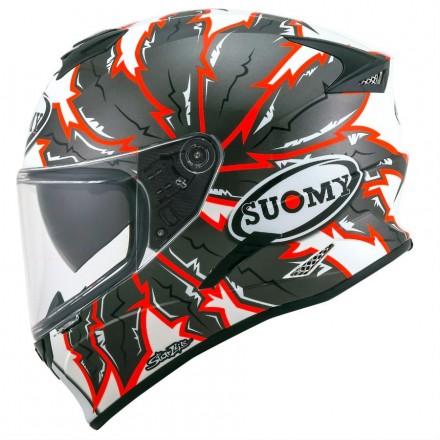 Casco integrale moto Suomy Stellar apache helmet casque