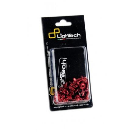 Kit Viti Carena red rosso KTM 990 SuperDuke 2007-2012 Lightech 7M9C fairing screw kit