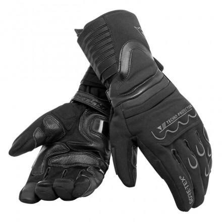 Guanti lunghi moto touring invernali Dainese Scout 2 goretex black winter gloves
