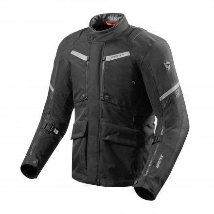 Giacca moto touring triplo strato Rev'it Neptune 2 Goretex GTX Nero black 3 layers jacket