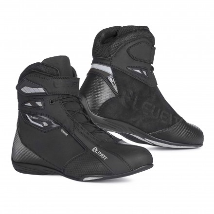 Scarpe moto Eleveit T Sport Waterproof nero black shoes