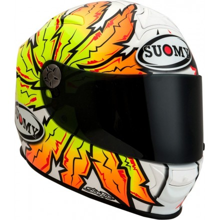 Casco integrale moto fibra carbonio Suomy Sr Sport Brave helmet casque KSSR0036