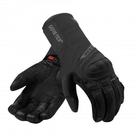 Guanti moto invernali Rev'It Livengood goretex Nero black winter waterproof gloves