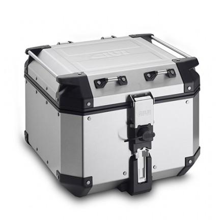 Top Case Valigia Monokey Trekker Givi Obkn42a Outback alluminio 42 litri