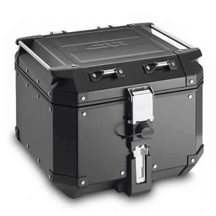 Top Case Valigia Monokey givi Obkn42b Trekker Outback Black Line alluminio nero 42 litri