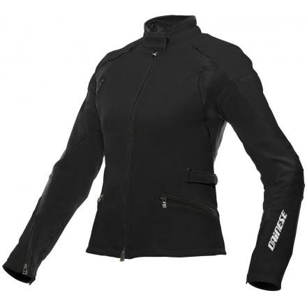 Giacca moto donna Dainese Arya tex lady nero black ladies woman jacket