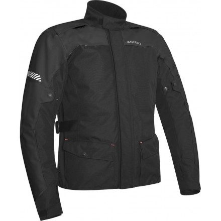 Giacca moto adventure touring Acerbis Discovery Forest nero black jacket