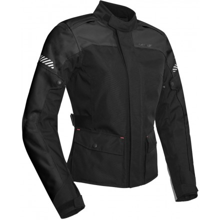 Giacca donna moto adventure touring Acerbis Discovery Forest lady nero black ladies woman jacket