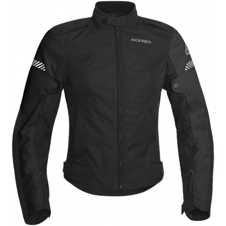 Giacca donna moto Acerbis Discovery Ghibly lady nero black ladies woman jacket