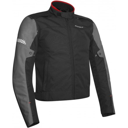 Giacca moto sport Acerbis Discovery Ghibly nero grigio black grey jacket