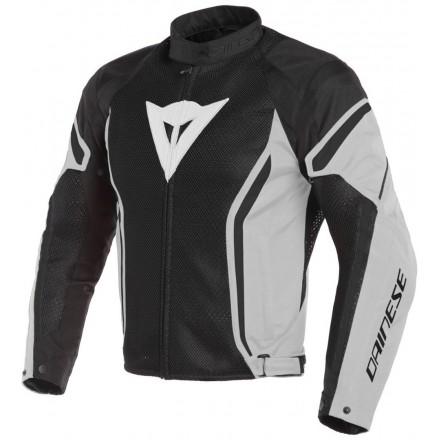 Giacca moto primavera estate Dainese Air Crono 2 Tex nero grigio chiaro black fluo glacier gray Z93 spring summer jacket