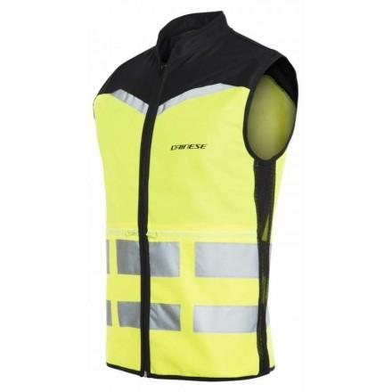 Gilet alta visibilita giallo fluo Dainese High Vis Vest Explorer yellow