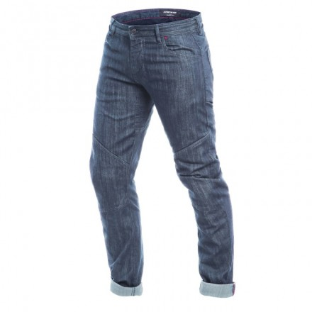Pantaloni jeans moto Dainese Todi Slim blu medium denim trouser