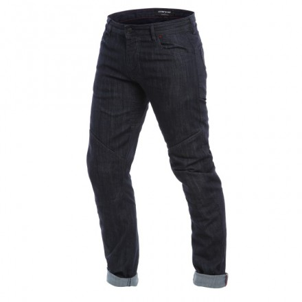 Pantaloni jeans moto Dainese Todi Slim blu dark denim trouser