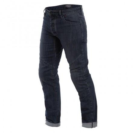 Pantaloni jeans moto Dainese Tivoli Regular blu dark denim trouser