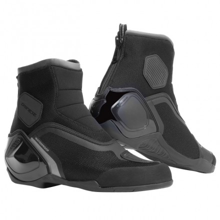 Scarpe moto sportive Dainese Dinamica D-Wp nero antracite black shoes