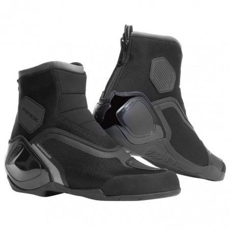 Scarpe moto sportive Dainese Dinamica D-Wp nero antracite black shoes