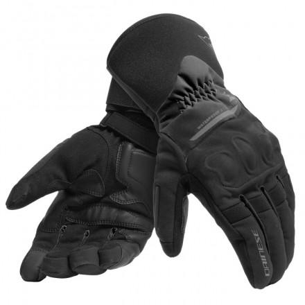 Guanti moto Dainese X-tourer nero black gloves