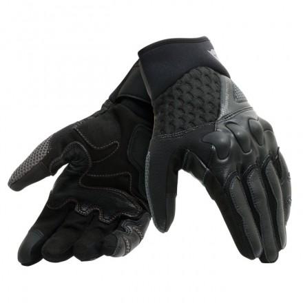Guanti moto primavera estate Dainese X-moto nero antracite black spring summer gloves