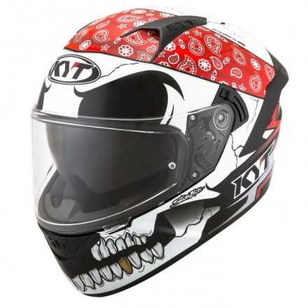 Casco integrale moto KYT NF-R Pirate helmet casque