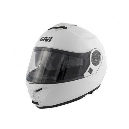 Casco modulare apribile doppia omolazione Givi hx20 X.20 Expedition bianco white flip up helmet casque