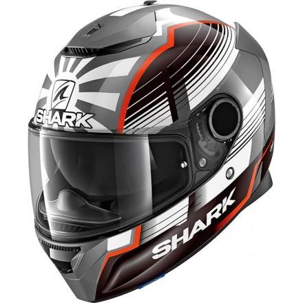 Casco integrale moto fibra Shark Spartan 1.2 Zarco Malaysian Gp lucido glossy helmet casque