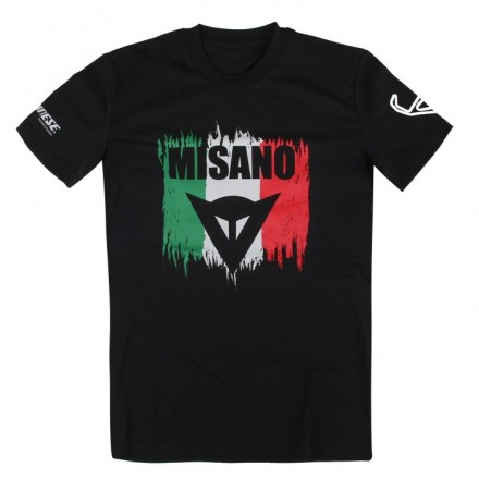 T-Shirt Dainese Misano D1 Nero shirt maglia black