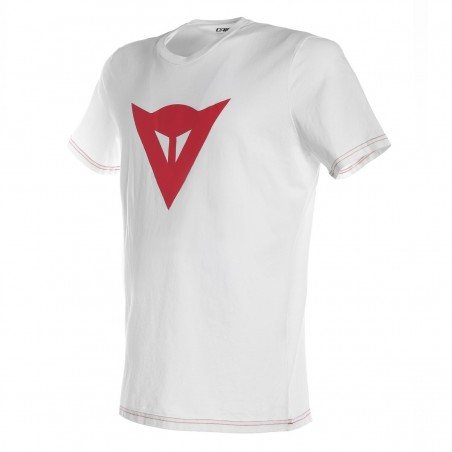 T-Shirt maglia bimbo bambino Dainese Speed Demon Kid bianco rosso white red Junior