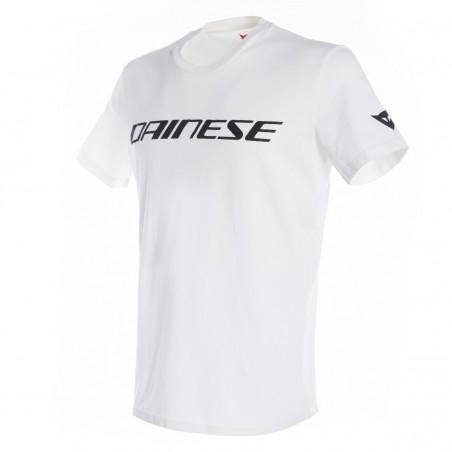 T-Shirt Dainese white black bianco nero maglia