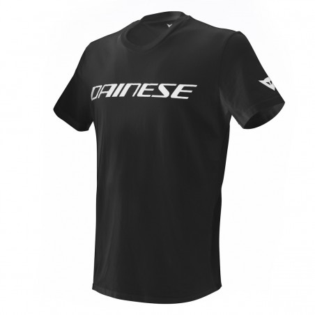 T-Shirt maglia Dainese nero bianco black white