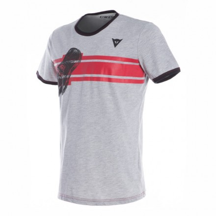 T-Shirt maglia Dainese Glove grigio grey melange