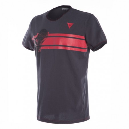 T-Shirt maglia Dainese Glove antracite