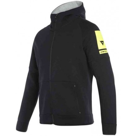Felpa Dainese Full-zip hoodie nero black sweatshirt