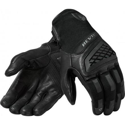 Guanti moto estivi Rev'It Neutron 3 nero Black summer gloves