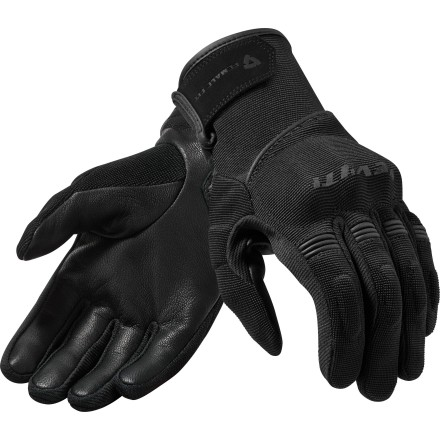 Guanti donna moto estivi Rev'it Mosca ladies Nero black spring summer lady woman gloves