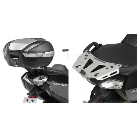 Attacco posteriore alluminio bauletto Givi SRA5106 Bmw C650 Gt rear rack top case