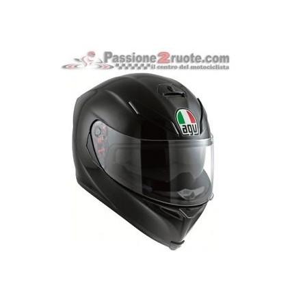 Casco integrale moto Agv K-3 Sv pinlock Nero opaco Black Matt Helmet