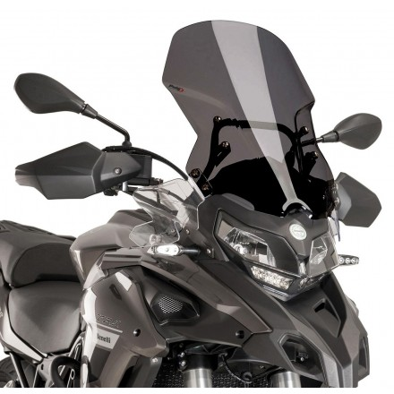 PUIG 9485F CUPOLINO TOURING BENELLI TRK 502 2016-2019 FUME' scuro  windshield windscreen dark smoke
