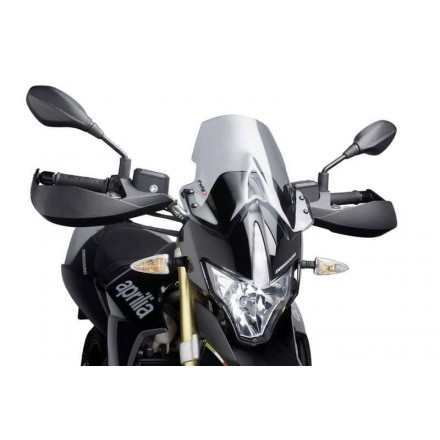 Cupolino Fairing Touring Aprilia Dorsoduro 750 2008-2016 fumè chiaro Puig 4947h windshield windscreen light smoke