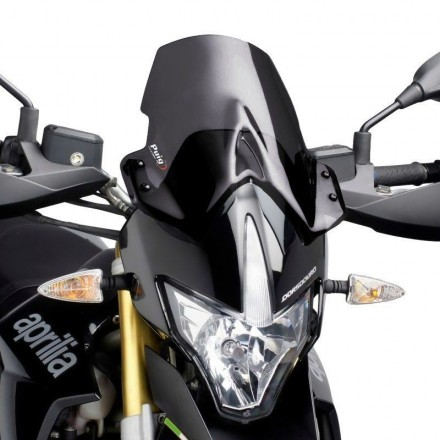 Cupolino Fairing Touring Aprilia Dorsoduro 1200 2011-2016 fumè scuro Puig 4947f windshield windscreen dark smoke