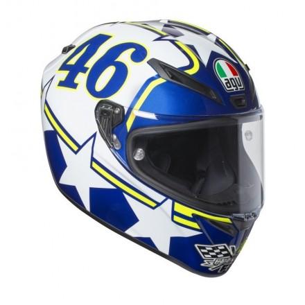 Casco Integrale moto gp Agv Sport Veloce S Valentino Rossi Ranch helmet casque