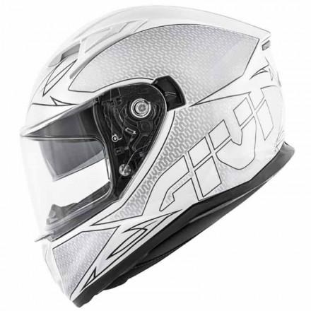 Casco integrale moto Givi 506 Stoccarda bianco nero white black Helmet casque