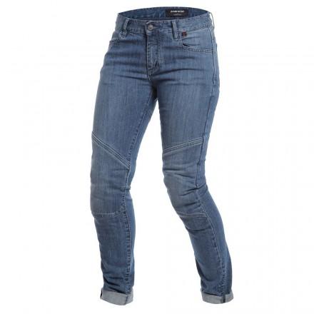 Jeans donna Dainese Amelia Slim Lady medium denim