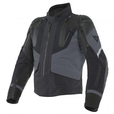 Giacca moto touring Dainese Sport Master Goretex nero grigio black ebony jacket
