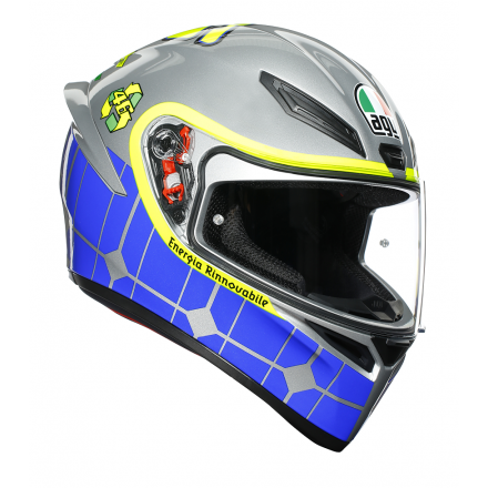 Casco integrale moto Agv K-1 Valentino Rossi Mugello 2015 Power helmet casque