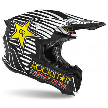 Casco moto cross enduro motard off road Airoh Twist 2.0 Rockstar 2020 TW2RK35 helmet casque