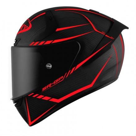 Casco integrale fibra carbonio moto racing pista corsa Suomy Sr-Gp Carbon Supersonic helmet casque