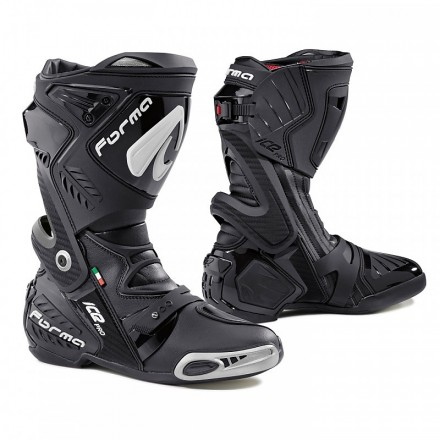 Stivali moto racing pista corsa Forma Ice Pro nero black Boots
