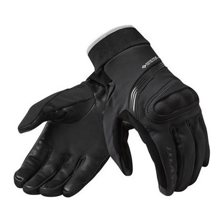 Guanti donna moto invernali Rev'it Crater 2 WSP ladies Nero black winter woman gloves