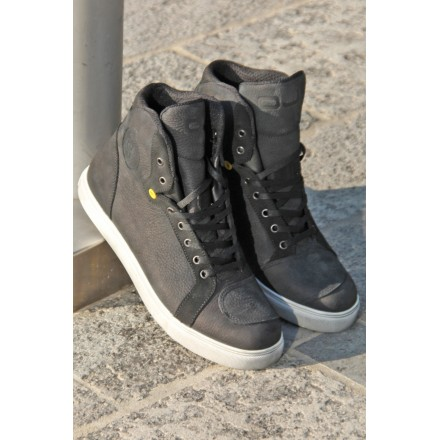 Scarpe moto scooter Oj Move nero black sneaker shoes